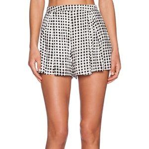 MINKPINK gingham shorts